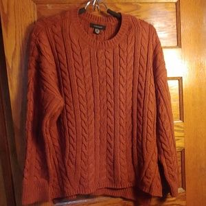 Atmosphere rust sweater